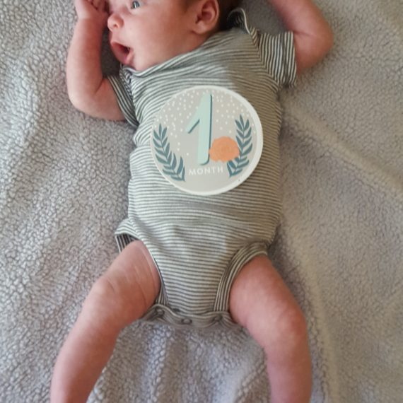 Elliot is One Month Old!